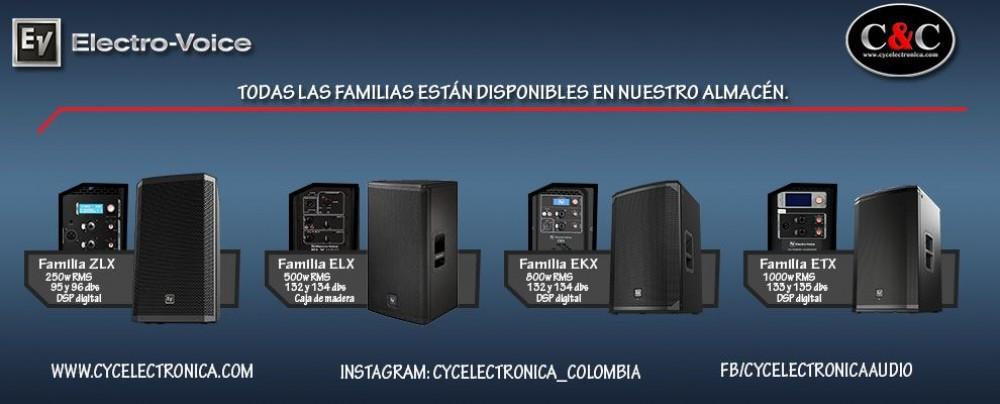 Familia Electro-voice