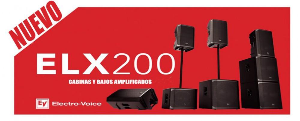NUEVA SERIE ELX200 DE ELECTRO-VOICE